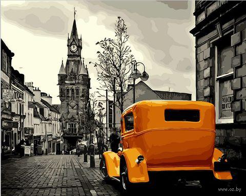 """Картина по номерам """"Ретро автомобиль"""" (400х500 мм) — фото, картинка"""