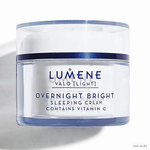 "Ночной крем для лица ""Overnight Bright Sleeping Cream Vitamin C"" (50 мл) — фото, картинка"