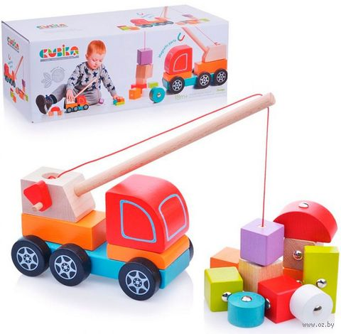 "Деревянная игрушка ""Кран"" — фото, картинка"