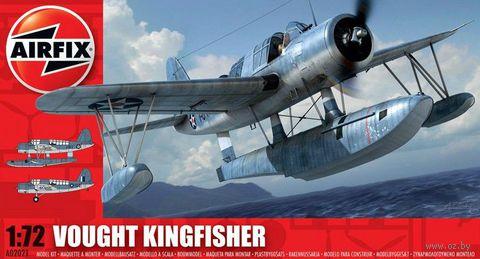 """Разведывательный гидроплан """"Vought Kingfisher"""" (масштаб: 1/72) — фото, картинка"""