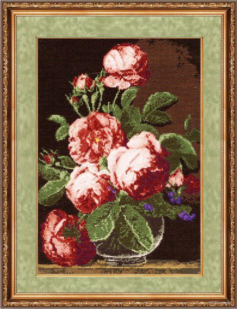"""Вышивка крестом """"Английские розы"""""""