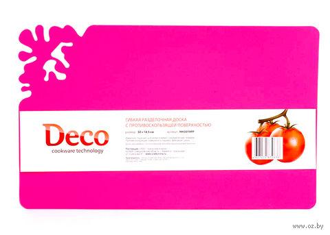 Доска разделочная пластмассовая (30х18,5х0,2 см; арт. HH3019PP)