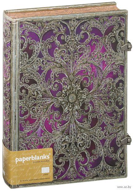 """Записная книжка Paperblanks """"Обержин"""" в линейку (формат: 180*230 мм, ультра)"""