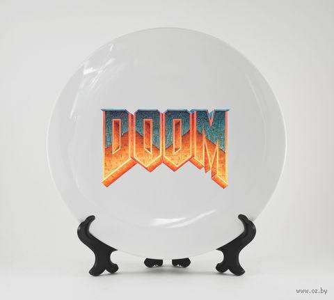 """Тарелка """"Doom"""" (880)"""