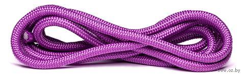 Скакалка для художественной гимнастики RGJ-104 (3 м; сиреневая) — фото, картинка