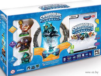 Skylanders. Стартовый набор: игровой портал, игра, фигурки: Spyro, Trigger Happy, Gill Grunt. Русская версия [PC&Mac]