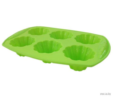 Форма для выпекания кексов силиконовая (30х20х5,3 см)