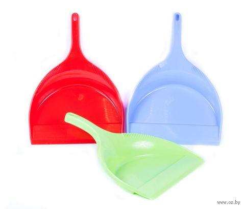 """Совок для мусора пластмассовый """"Клинт"""" (33х22 см)"""