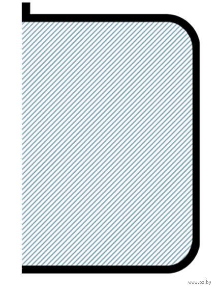 Папка для тетрадей на молнии (А5; черная)
