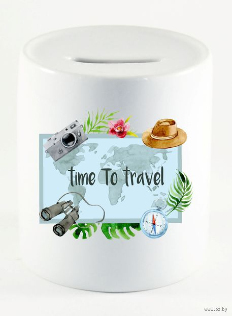 """Копилка """"Time to travel"""" (731)"""