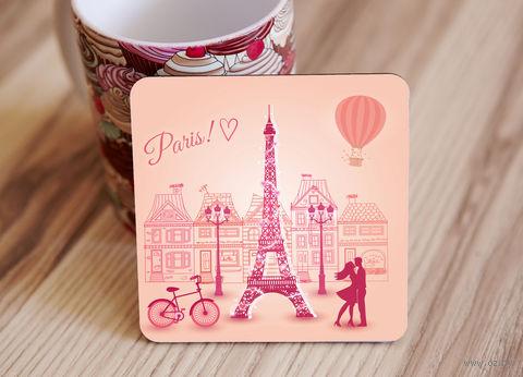 "Подставка под кружку ""Paris"" (арт. 21) — фото, картинка"