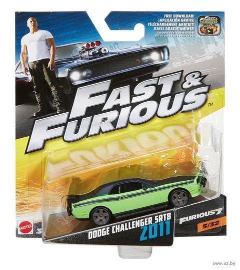 """Модель машины """"Fast&Furios. Dodge Challenger SRT8 2011"""" (масштаб: 1/55) — фото, картинка"""