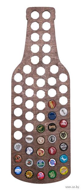 """Бутылка для пивных крышек """"Beer Bank"""" (тёмная) — фото, картинка"""