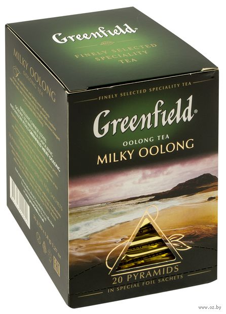 "Чай улун ""Greenfield. Milky Oolong"" (20 пакетиков) — фото, картинка"