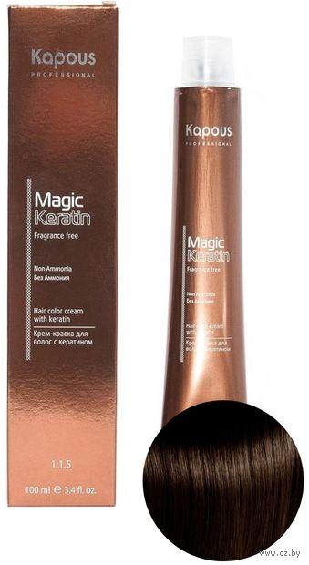 """Крем-краска для волос """"Non Ammonia"""" тон: 4.83, коричневый анис — фото, картинка"""