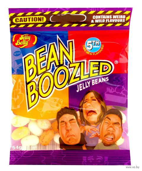 "Драже ""Jelly Belly. Bean Boozled"" (54 г) — фото, картинка"