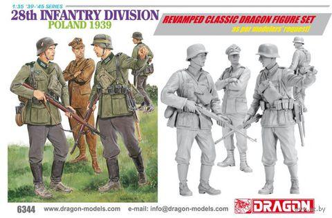 """Набор миниатюр """"8th Infantry Division Poland 1939"""" (масштаб: 1/35) — фото, картинка"""