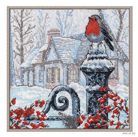 """Вышивка крестом """"Рождественское утро"""""""