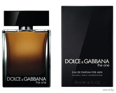 """Парфюмерная вода для мужчин Dolce & Gabbana """"The One"""" (50 мл) — фото, картинка"""