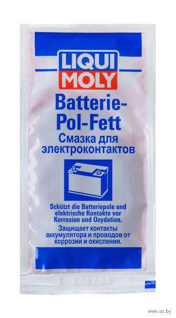 "Смазка для электроконтактов ""Batterie-Pol-Fett"" (10 г; красная) — фото, картинка"