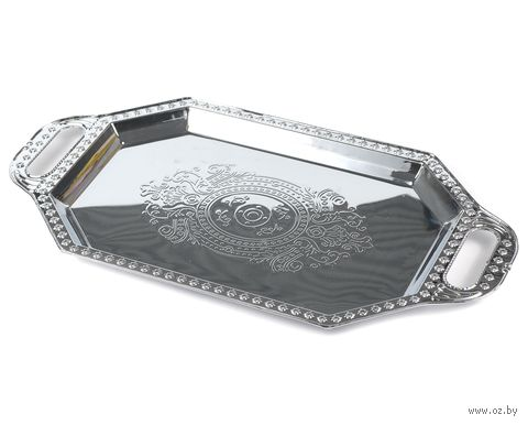 Поднос металлический (490х255 мм) — фото, картинка