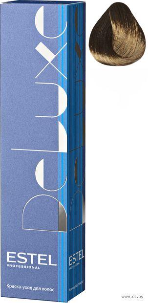 """Краска-уход для волос """"Estel. De Luxe"""" тон: 5/7, светлый шатен коричневый — фото, картинка"""