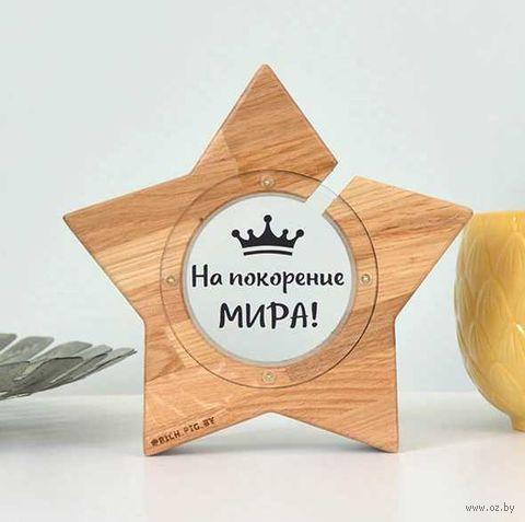 """Копилка """"Звезда. На покорение мира"""" (арт. MS-6.003) — фото, картинка"""