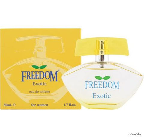 "Туалетная вода для женщин ""Freedom. Exotic"" (50 мл)"