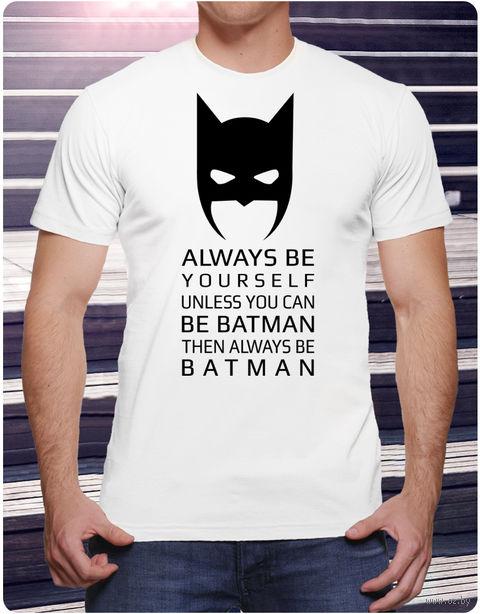 """Футболка мужская """"Бэтмен"""" (размер 52; арт. 1) — фото, картинка"""