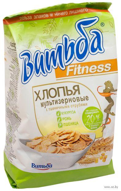 """Хлопья мультизерновые """"Fitness"""" (250 г; с пшеничными отрубями) — фото, картинка"""