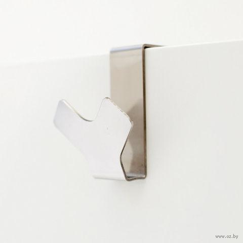 """Крючок металлический на дверь """"Y-hook"""" (матовая сталь)"""