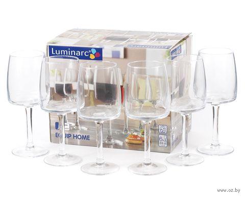 """Бокал для вина стеклянный """"Equip Home"""" (6 шт.; 240 мл) — фото, картинка"""