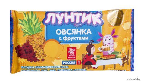 "Батончик ""Лунтик. Овсянка с фруктами"" (40 г) — фото, картинка"