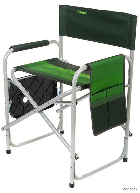"""Кресло складное со столиком """"К 903"""" (зелёный) — фото, картинка"""