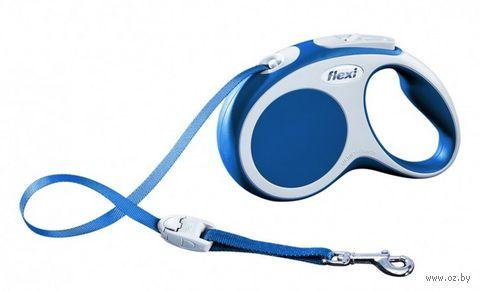 """Поводок-рулетка для собак """"Vario"""" (синий, размер L, до 60 кг/5 м, арт. 12082)"""