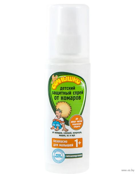 Спрей от комаров детский защитный (100 мл)