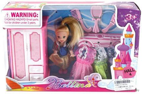 """Кукла """"Bettina. Мой гардероб"""" (9 см; арт. 66791)"""