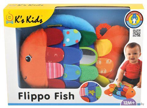 """Развивающая игрушка """"Рыбка Флиппо"""" (с прорезывателем) — фото, картинка"""