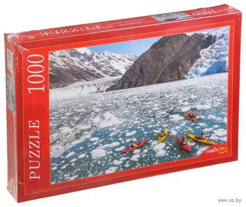 """Пазл """"Лодки на ледяной реке"""" (1000 элементов) — фото, картинка"""