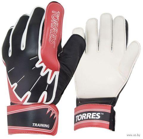 """Перчатки вратарские """"Training"""" (р. 8; красные) — фото, картинка"""