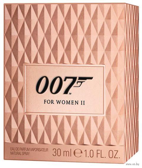 "Парфюмерная вода для женщин ""007 For Woman ll"" (30 мл) — фото, картинка"