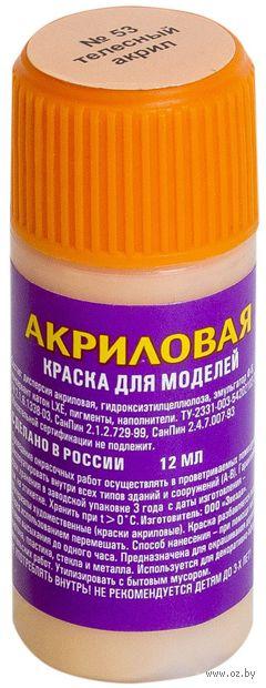 Акриловая краска для моделей (Телесная, АКР53)