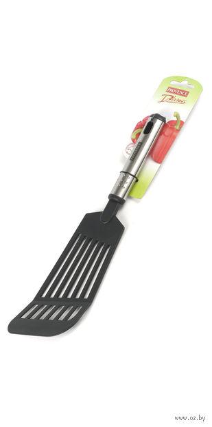 Лопатка кухонная пластмассовая термостойкая (295 мм) — фото, картинка