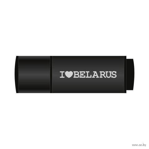 "USB Flash Drive 4Gb Vitaem ""I LOVE BELARUS"" (черная)"