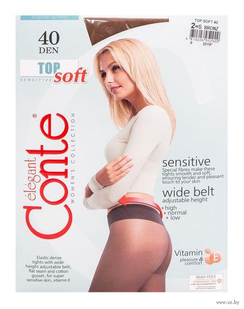 """Колготки женские классические """"Conte. Top soft 40"""""""