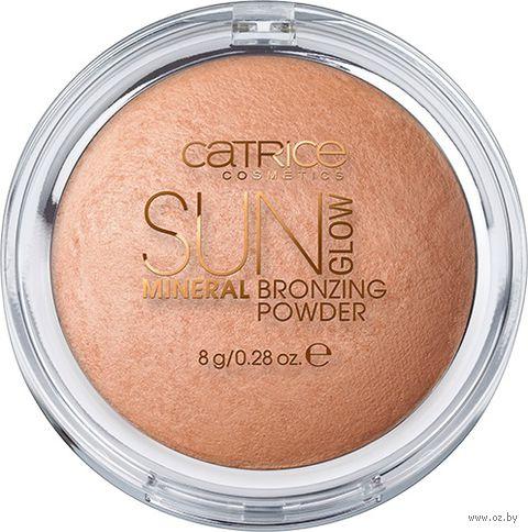 "Компактная пудра для лица ""Sun Glow Mineral Bronzing"" (тон: 010)"