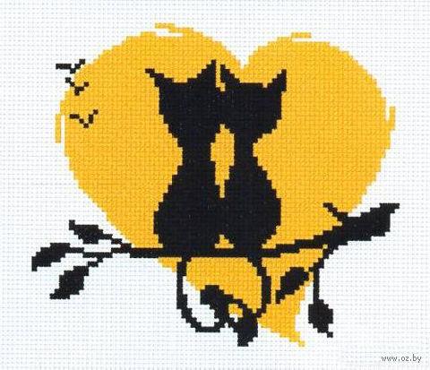 """Вышивка крестом """"Влюбленные коты 3"""""""