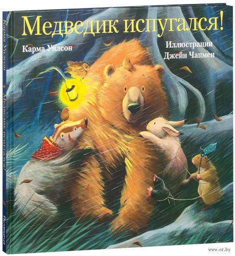 Медведик испугался! — фото, картинка