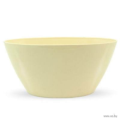 """Цветочный горшок """"Orchid Oval"""" (25 см; кремовый) — фото, картинка"""