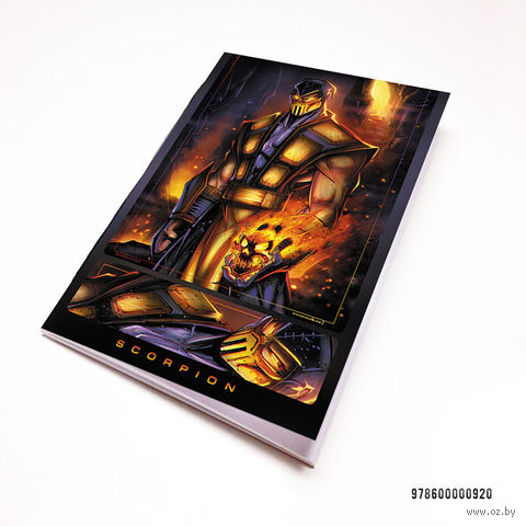"""Блокнот """"Mortal Kombat"""" (А7; арт. 920) — фото, картинка"""